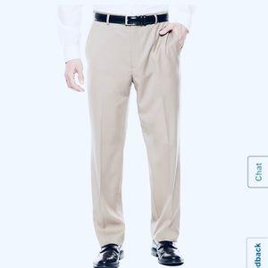 Classic Fit Comfort Waist Flat-Front Pant